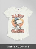 Junk Food Clothing Toddler Boys Happy Camper Tee-sugar-2t