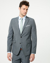 Le Château Check Print Wool Blend Slim Fit Blazer