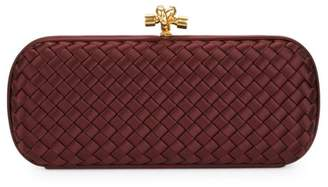 Bottega Veneta Long Knot Satin Clutch