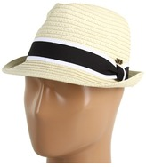 Roxy Heat Wave Fedora Hat (Stone) - Hats
