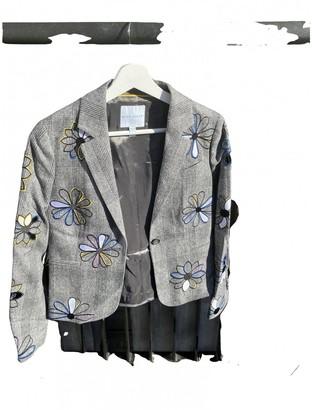 Mira Mikati Grey Cotton Jacket for Women