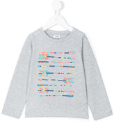 Knot - arrow print top - kids - Cotton - 10 yrs