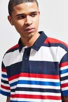 Tommy Hilfiger Stripe Logo Polo Shirt
