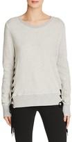 Pam & Gela Lace-Up Sweatshirt