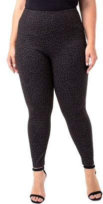 Liverpool Jeans Co Reese High Waist Cheetah Print Leggings