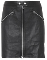 Rag & Bone Leather miniskirt