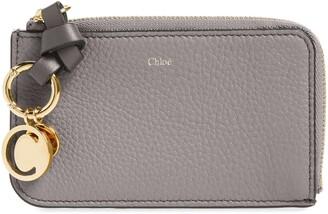 Chloé Alphabet Leather Card Holder