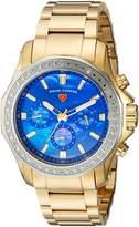 Swiss Legend SL-16201SM-YG-33-SB Women's Islander Quartz Stainless Steel Automatic Wrist Watch, Gold-Toned