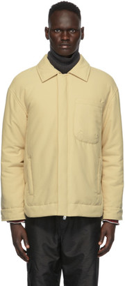 Tibi Tan Clyde Padding Shirt Jacket