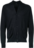 Attachment pocket detail cardigan - men - Cotton - 2