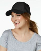 Collection XIIX Faux-Suede Baseball Cap