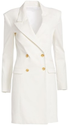 By Any Other Name Ribbed Cotton Blazer Dress