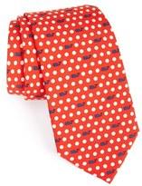 Vineyard Vines Men's 'Polka Dot Geo' Silk Tie