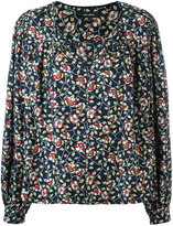 Isabel Marant floral print blouse - women - Silk/Cotton - 36