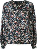 Isabel Marant floral print blouse - women - Silk/Cotton - 40