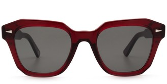 AHLEM Pont Des Arts Burgundy Sunglasses