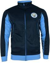 Manchester City F.C. Manchester City Jacket Track Soccer Adult Sizes Soccer Football Official Merchandise (L, )