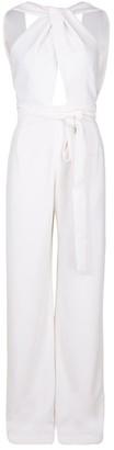 Catherine Regehr Ivory Wrap Style Jumpsuit