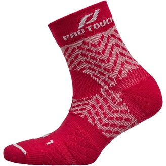 Pro Touch Unisex Compression Low Cut Running Sock Red