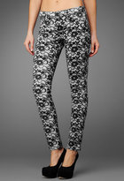 AG Jeans The Legging - Lace White