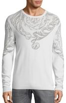 Versace Top Baroue Intarsia Sweater