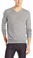French Connection Men's Merino Basics V-Neck Sweater