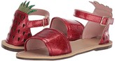 J.Crew crewcuts by Strawberry Jelly Sandal (Toddler/Little Kid/Big Kid) (Milan Red) Girl's Shoes