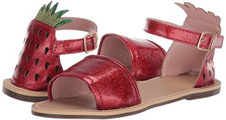 crewcuts by J.Crew Strawberry Jelly Sandal (Toddler/Little Kid/Big Kid) (Milan Red) Girl's Shoes