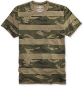 American Rag Men's Camo-Stripe Print T-Shirt, Only at Macy's
