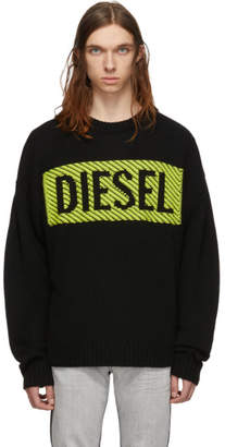 Diesel Black K-Logox-C Sweater