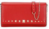 Valentino Love Stud Wallet On A Chain