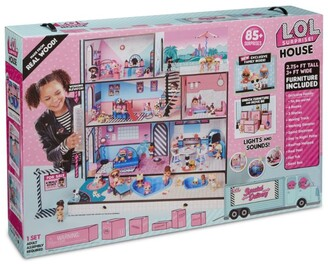 Lol Surprise Dollhouse With Family