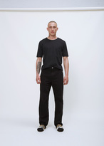 Our Legacy overdyed black denim chino