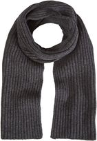 White Stuff Ralph Ribbed Scarf