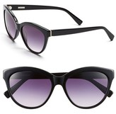 Derek Lam Women's 'Amira' 55Mm Sunglasses - Black