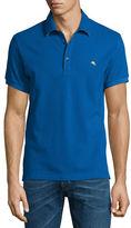 Etro Paisley-Collar Polo Shirt