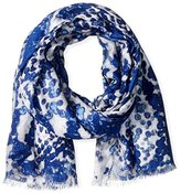 Michael Stars Women's Dotted Python Scarf