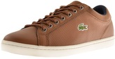 Lacoste Straightset Trainers Brown