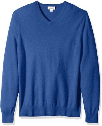 Williams Cashmere Men's 100% Cashmere Big-Tall V-Neck Sweater