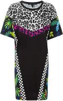 Marc Jacobs printed patchwork T-shirt dress
