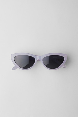 Weekday Arrival Cateye Sunglasses - Black