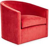 Kristin Drohan Collection Georgia Swivel Chair - Vermillion Velvet
