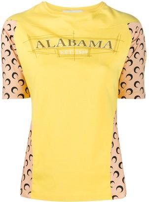 Marine Serre Alabama panelled T-shirt