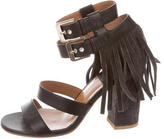Laurence Dacade Fringe Ankle Strap Sandals