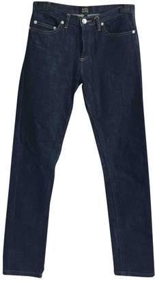 A.P.C. Blue Denim - Jeans Trousers