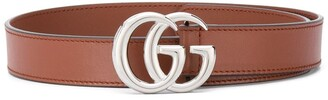 Gucci Kids Double G buckle belt