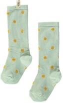 Bobo Choses Orange Polka Dot Socks