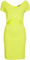 Topshop Crop Top Mini Bodycon Dress