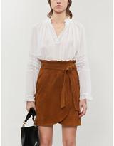 BA&SH Stella V-neck cotton blouse