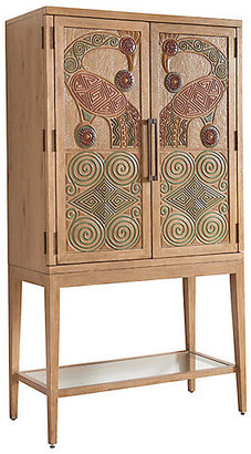 Tommy Bahama Cameroon Bar Cabinet - Natural